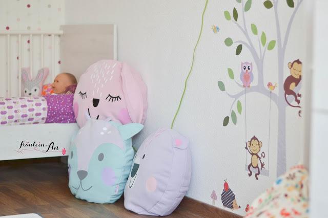 Kuschelkissen im Kinderzimmer