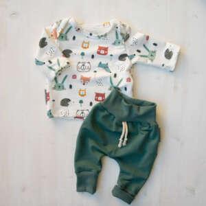 62 beige Sanetta Pure Baby-M/ädchen Langarmshirt mit einem abstrakten Minimal-Print aus 100/% Bio Baumwolle